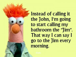 have no idea why Beaker is involved with this quote, but it only ...