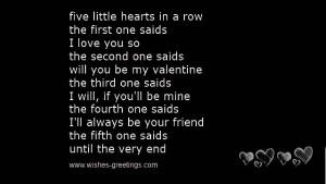 valentines day poems for kids kids valentines day poems valentines ...