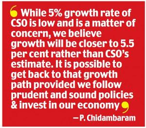 Chidambaram quote