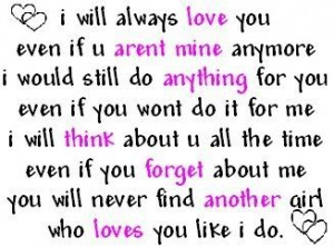 I Love You Always Quotes Images : Ill Love You Forever Quotes. QuotesGram