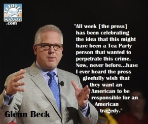 Glenn Beck quote...**What sadness, such sick-with-craziness the ...