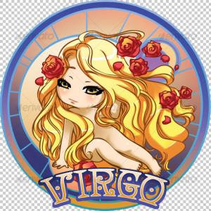 Virgo sweet anime graphic
