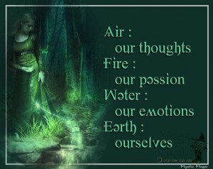 THE ELEMENTS :: Air Fire Water Earth