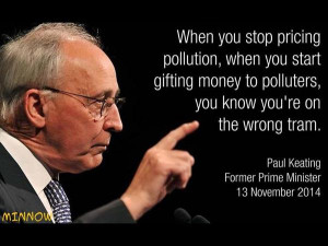Paul Keating on climate change