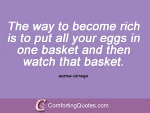 Andrew Carnegie Quotes Immense Power