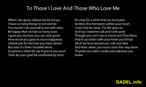 Loss Of A Loved One Poems And Quotes