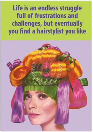 Hair stylist b...