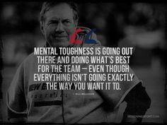... , New England Patriots; Mental Toughness Quote @ designingsport.com