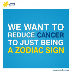 With your help, we can! #cancer #quote #inspire #love #cancercouncil
