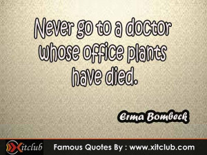 15 Most Famous #quotes By Erma Bombeck #sayings #quotations
