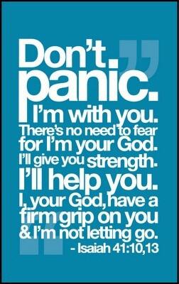 Dont panic!!