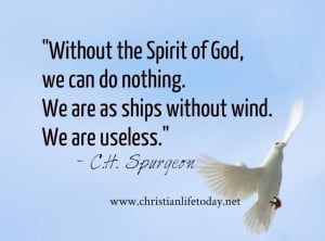 Knowing the Holy Spirit Quotes