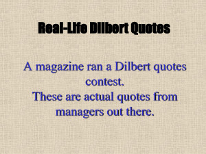 dilbert quotes contest, scott,