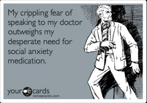 My crippling fear of speaking to my doctor outweighs my desperate need ...