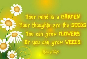 My Favorite Garden sayings