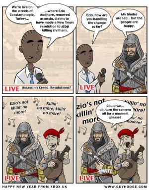 Funny Assassins Creed Assasins creed funny stuff