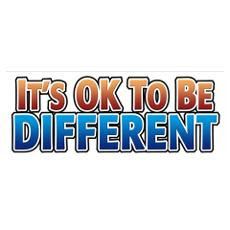 It's Okay To Be Different...Charles Hughes