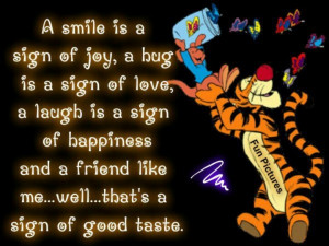 Tigger..... That summed it up ....LOL