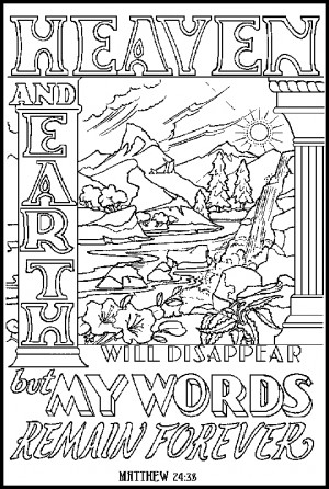 Free adult coloring pages bible ~ Religious Quotes Coloring Pages Adult. QuotesGram