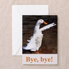 Bye,Bye! Greeting Cards (Pk of 10) for