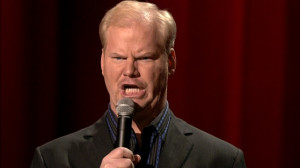 ... Jim Gaffigan quotes. We've got the quotes. You bring the cake