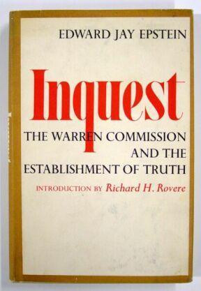 "Start by marking ""Inquest: The Warren Commission and the ..."