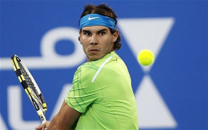 Tennis champion Rafael Nadal is superstitious about his water bottles ...