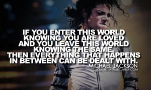 Pictures of Michael Jackson Quotes About Love And Life
