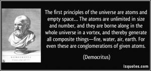 More Democritus Quotes