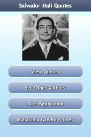 Pictures Salvador Dali Picture Quotes