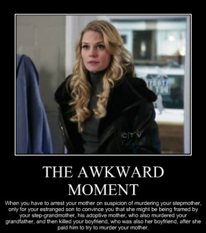 LOL once upon a time ouat Emma Swan Mary Margaret Regina Mills sheriff ...