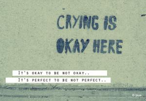 It's Okay To Be Not Okay