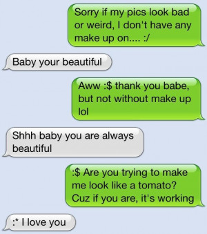 Sweet Text Message Quotes