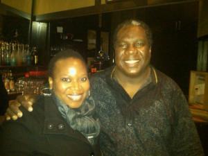 Vusi Mahlasela and I