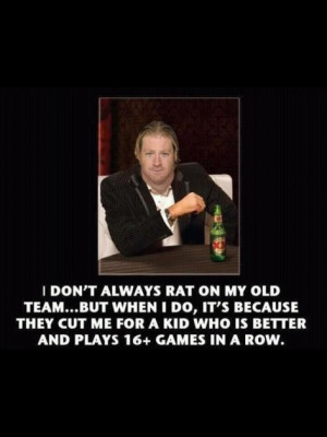 This is a play on the Dos Equis Interesting man in the world LOL
