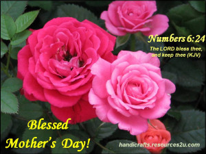 Free Mother's Day Card to KJV verse