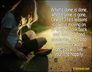 quotes about moving forward in life and love for life to move forward