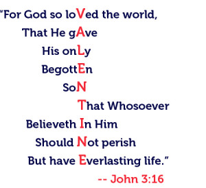 ... lose sight of God's great gift of love this Valentine's Day