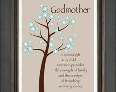 Sayings About Godmothers | Godmother Gift More