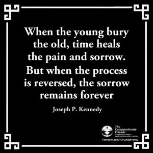 Loss of a child Quote from 4-17-14