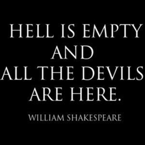 Shakespeare quote...