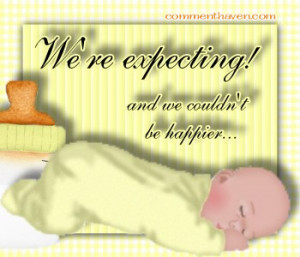 Happy Expecting Baby Baby Graphic