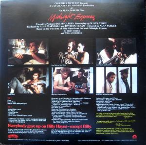 Giorgio Moroder Midnight Express Music From The Original