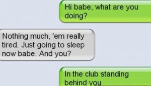Lying Girlfriend Text Fail !!!