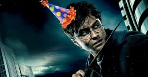 Happy Birthday Harry Potter! (And JK Rowling)
