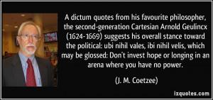 More J. M. Coetzee Quotes