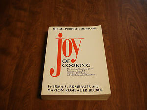 JOY OF COOKING COOKBOOK by IRMA S ROMBAUER MARION ROMBAUER BECKER 1997