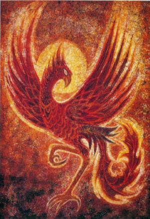 phoenix rising: mythical creature, phoenix bird mythology, myth beast