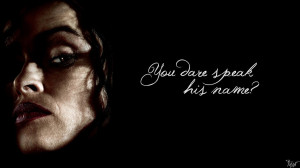 Harry Potter Wallpaper : Bellatrix Quote! v3 by TheLadyAvatar