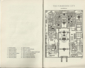My favourite is the map of the Forbidden City at the beginning of the ...